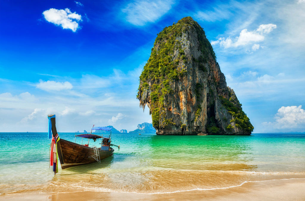 Beach time in Krabi, Thailand