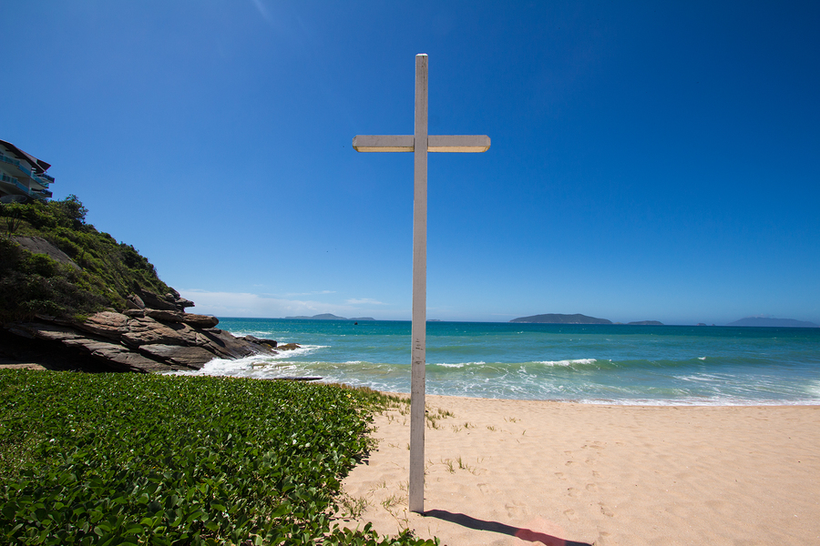 Easter in Brazil--at the beach