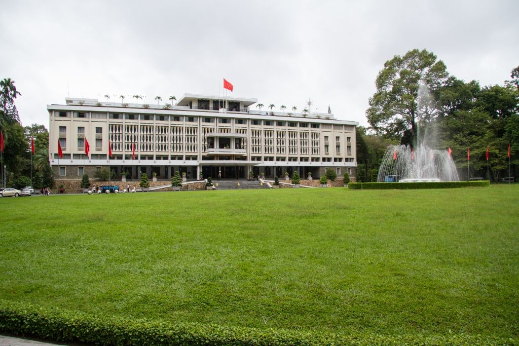 Independence Palace - Vietnam tour