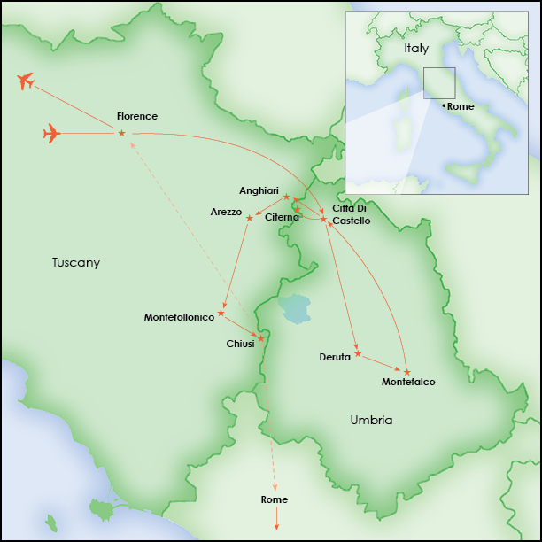 Anghiari Italy Map.Take Time To Explore Italy Experience Old Age Tradition