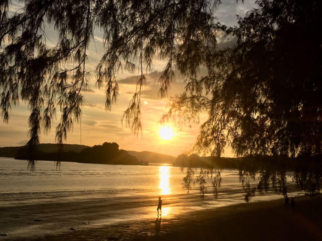 Ao Nang in Krabi beach