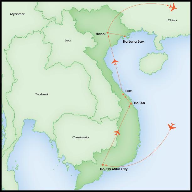 Explore Vietnam Map